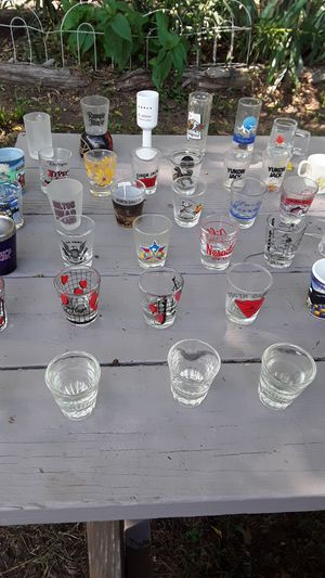 Shot glass collection for Sale in Spartanburg, SC