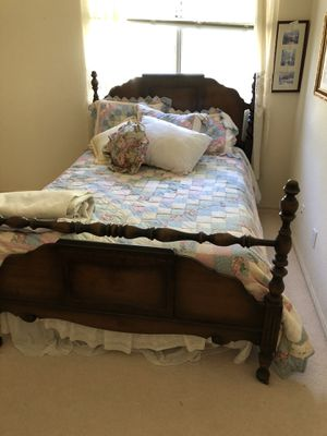 Double bed old antique for Sale in Oceanside, CA