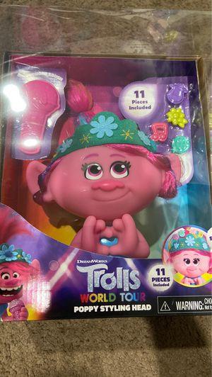 Trolls Poppy Styling head for Sale in Long Beach, CA