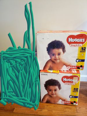 Size 3 HUGGIES DIAPERS for Sale in Groveport, OH