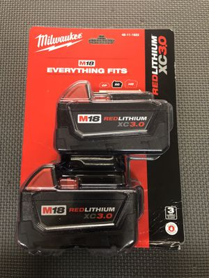 Milwaukee M18 Battery for Sale in Southaven, MS