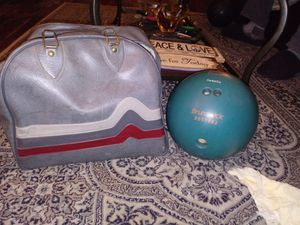 Brunswick DD55882 vintage Rhino bowling ball for Sale for sale  Aurora, CO