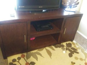 Tv stand good shape cheap for Sale in Dallas, TX