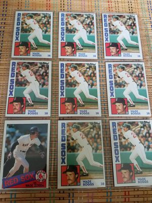 Used, Wade Boggs Vintage Baseball Cards for Sale for sale  Bloomfield, NJ