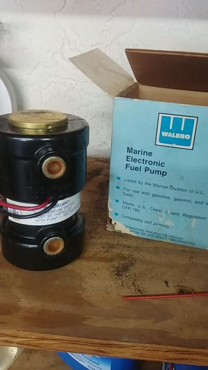 Walbro marine electronic fuel pump for Sale in Wimauma, FL