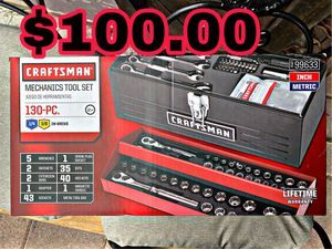 Craftsman 130 piece tool box for Sale in Brownsville, TX
