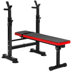 Adjustable Folding Fitness Barbell Rack and Weight Bench for Home Gym, Strength Training for Sale in Snohomish,  WA