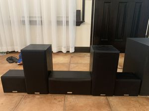 Kenwood home theater speakers with sub for Sale in Valencia, CA