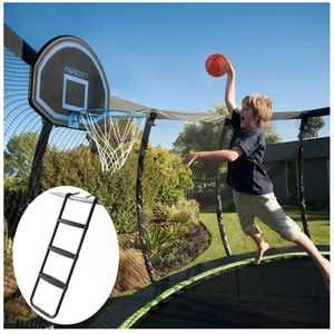 Basketball Hoop And Ladder That Attaches Yo Your Trampoline Brand New for Sale in Brentwood, CA