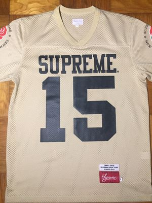 Supreme roses jersey medium gold for Sale in Gaithersburg, MD