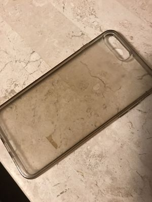 iPhone 7plus or 8 clear case for Sale in Pasadena, TX