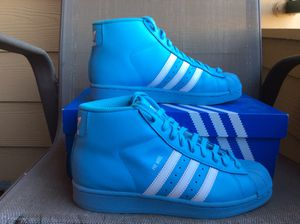 ADIDAS ORIGINALS PRO MODEL J ATHLETIC SNEAKERS Sz 6Y for Sale in Lewisville, TX