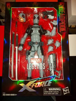 Hasbro Marvel Legend Series Deadpool X-Force 12 Inch Action Figure Toy Collectible for Sale in Gardena, CA