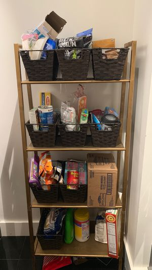 Gold ladder shelf for Sale in New York, NY