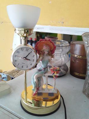 Decor Lamp/Clock for Sale in Fort Lauderdale, FL