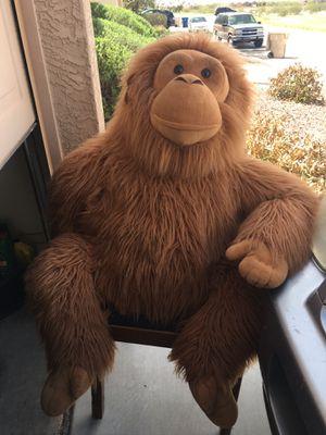 Large stuffed Monkey for Sale in Queen Creek, AZ