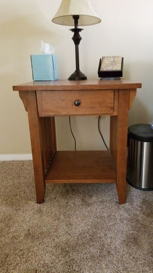 Mission style nightstand for Sale in Valley Park, MO