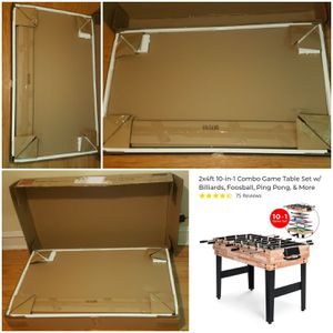 10 in 1 Game Table - NIB - Pick Up Northside for Sale in Chicago, IL