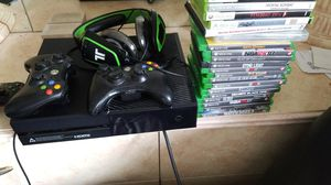 Xbox one games headphones games installed batman Arkham knights and more for Sale in Staten Island, NY