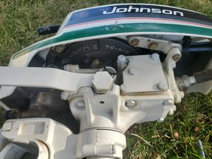 Outboard Motor 3hp Johnson not 5hp 6hp 4hp 9.9hp 2 stroke 4 stroke Honda Nissan Evinrude for Sale in Beaverton, OR