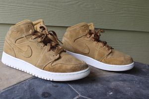 Air Jordan 1 Retro Mid GS 'Golden Harvest/ Sail Size 6Y US for Sale in Humble, TX