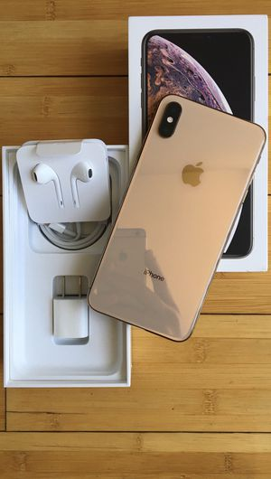 New Condition iPhone XS Max Factory Unlocked for Sale in North Miami Beach, FL