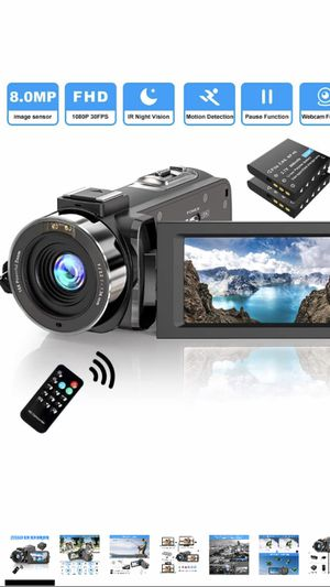 Video Camera Camcorder 1080P -NEW for Sale in Houston, TX