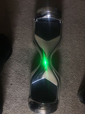 chrome hoverboard lights up for Sale in Washington, DC