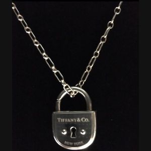 Tiffany Lock & Chain Sterling Silver for Sale in Fort Lauderdale, FL