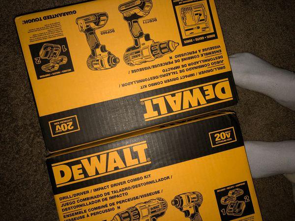 Drill , Dewalt , brand new
