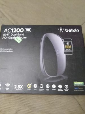 Brand New! Belkin Wi-Fi dual-band router$25obo for Sale in Portland, OR