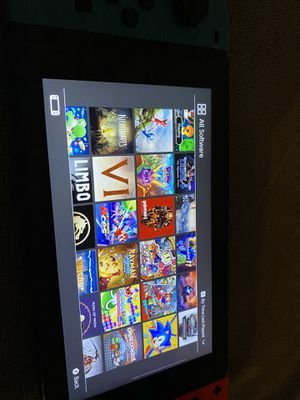 Nintendo Switch + 512GB microsd modded with games for Sale in San Diego, CA
