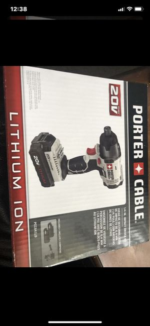Brand new in box impact driver drill kit with 2 battery and charger for Sale in East Northport, NY