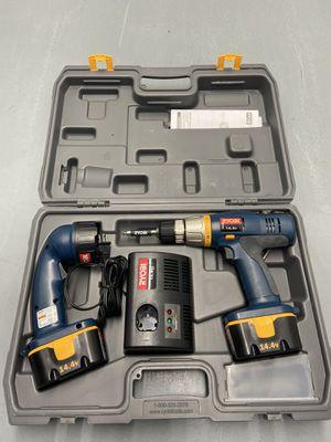 "Ryobi 14.4 Volt Cordless 3/8"" Drill Kit for Sale in Katy, TX"