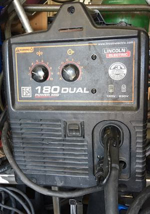 Lincoln Electric Power Mig 180 Dual Welder & Spool Gun - Good Condition. for Sale in City of Industry, CA