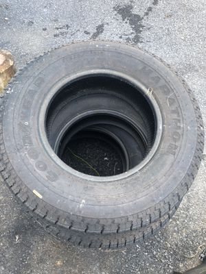 Rv tires st225/75 r15 for Sale in Laurys Station, PA
