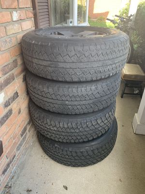 Wheels/tires 5x5 or 5x127 and 255/70/18 for Sale in Warren, MI