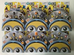 Despicable Me Series 1 Mineez New Minions 6 Figure 6pack Set for Sale in Kent, WA