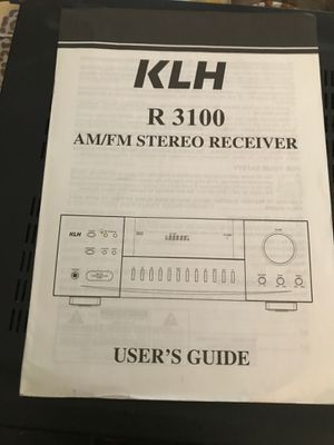 Stereo AM/FM Receiver for Sale in Tempe, AZ
