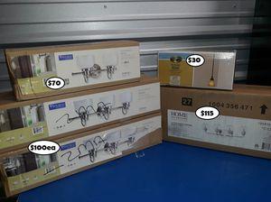Lamparas precio en cada caja for Sale in Houston, TX