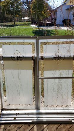 Shower door for 4ft 9in tub for Sale in Wichita,  KS