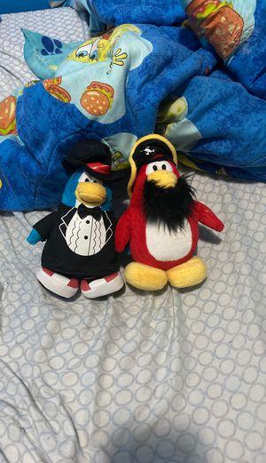 Rare Club Penguin plushies for Sale in Chicago, IL