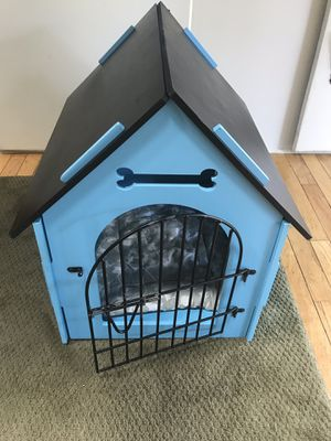Fancy blue dog cage for Sale in Marietta, GA