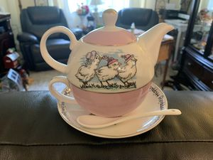 Tea for one by sweet living collection for Sale in Troy, MI