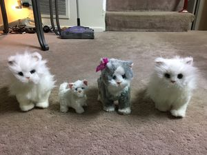 FurReal Friends Walking Kittens (total 4) Kids toys for Sale in Roselle, IL
