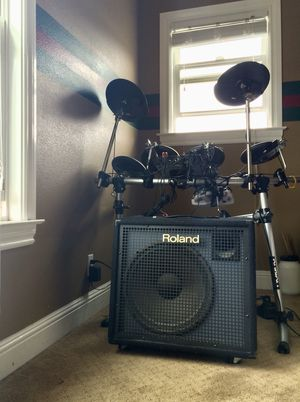 Roland TD-6V Electric Drum set With Roland AMP. for Sale in South San Francisco, CA