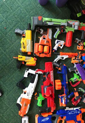 Nerf guns nerf lot for Sale in Santa Clarita, CA