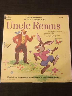 Uncle Remus Vinyl $100 for Sale in Pembroke Pines, FL