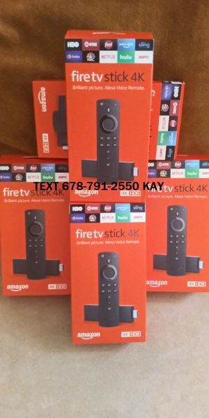 New Generation / Jailbroken / 4K Amazon Fire TV Stick HDR for Sale in Conley, GA