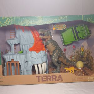 New In Box Terra By Battat Lava Mountain T-Rex Adventure for Sale in Tampa, FL